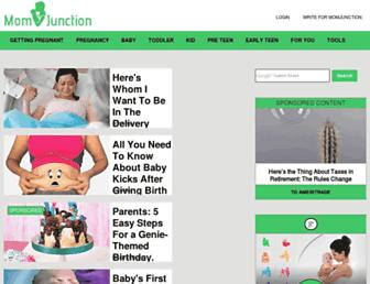Thumbshot of Momjunction.com