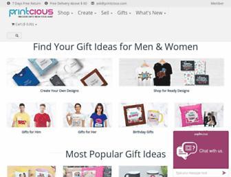 printcious.com screenshot