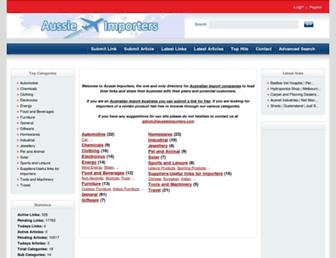 aussieimporters.com screenshot