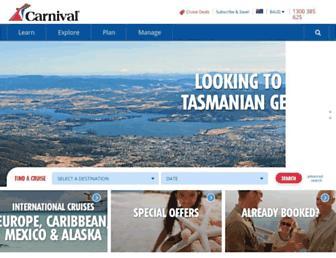 Thumbshot of Carnival.com.au