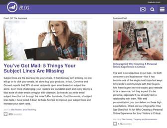 blog.marketo.com screenshot