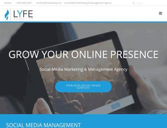 lyfemarketing.com screenshot