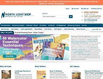 Thumbshot of Northlightshop.com