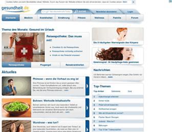 Thumbshot of Gesundheit.de