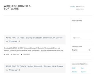 wireless-driver.com screenshot