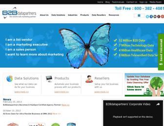 b2bdatapartners.com screenshot