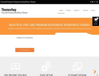 themes4wp.com screenshot