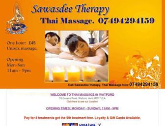 sawasdee-therapy.co.uk screenshot
