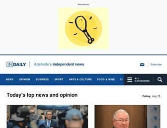 indaily.com.au screenshot