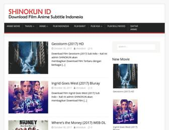 shinokun.id screenshot