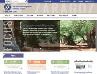 iamz.ciheam.org screenshot