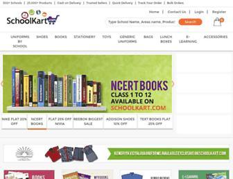 schoolkart.com screenshot