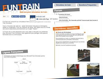 funtrain.net screenshot