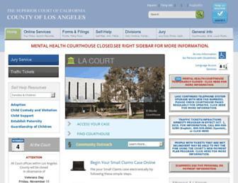 lacourt.org screenshot