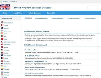 uk.soopage.com screenshot