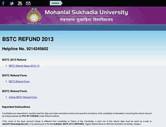 Thumbshot of Onlinemlsu.in