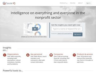 causeiq.com screenshot