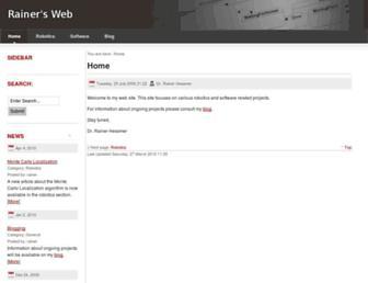 hessmer.org screenshot
