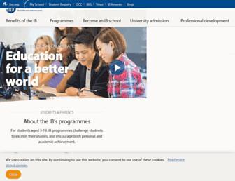 ibo.org screenshot