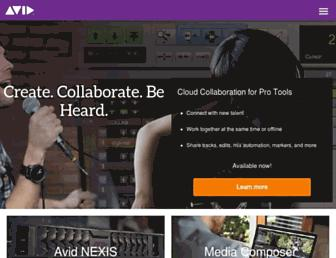 Thumbshot of Avid.com