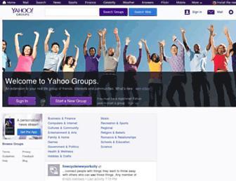 tech.groups.yahoo.com screenshot