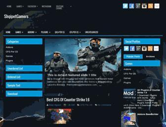 shqipetgames.blogspot.com screenshot