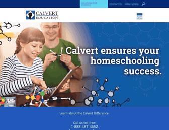 Thumbshot of Calverteducation.com