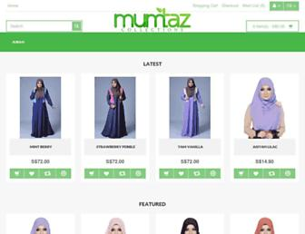 Thumbshot of Mumtazcollections.com
