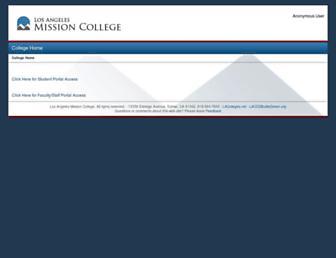 mymission.lamission.edu screenshot