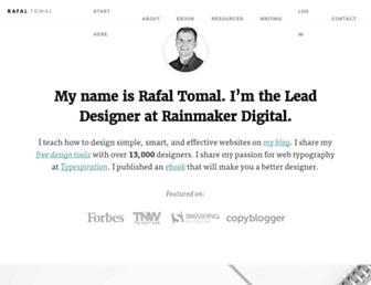 Thumbshot of Rafaltomal.com