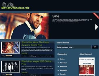 Thumbshot of Moviesonlinefree.biz