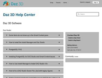 helpdaz.zendesk.com screenshot