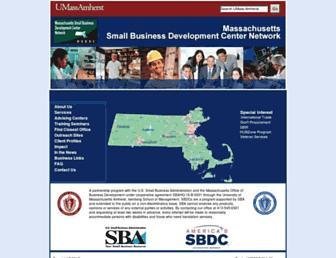 msbdc.org screenshot