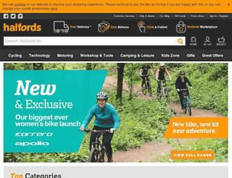 Thumbshot of Halfords.com