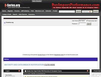 d-series.org screenshot