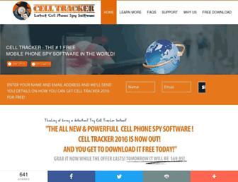 cell-trackers.com screenshot