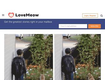 Thumbshot of Lovemeow.com