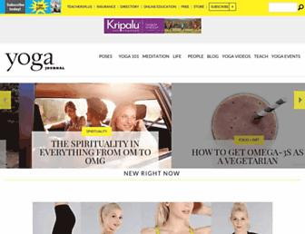 Thumbshot of Yogajournal.com