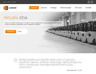 lukoss.lv screenshot