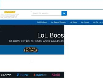 rankedboost.com screenshot