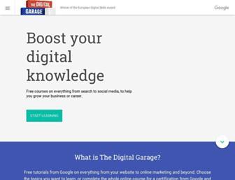 learndigital.withgoogle.com screenshot