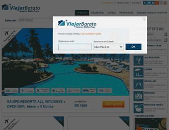 Thumbshot of Viajarbarato.com.br