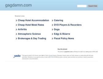 Thumbshot of Gagdamn.com
