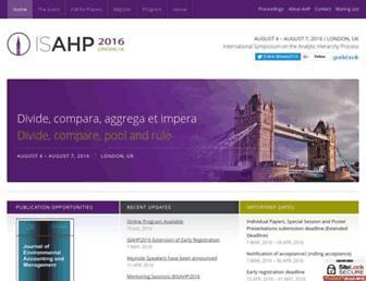 isahp.org screenshot