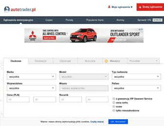autotrader.pl screenshot