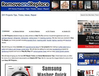 removeandreplace.com screenshot