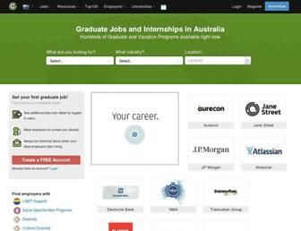au.gradconnection.com screenshot