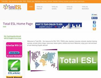 Thumbshot of Totalesl.com