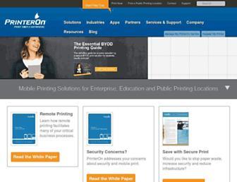 printeron.com screenshot