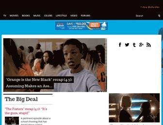afterellen.com screenshot